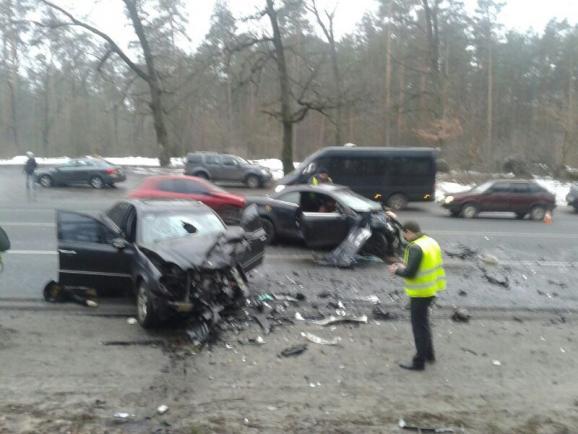 В столице в ДТП погибла женщина, водители и младенец госпитализированы