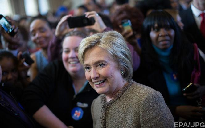 Клінтон здобула впевнену перемогу на праймеріз в Південній Кароліні