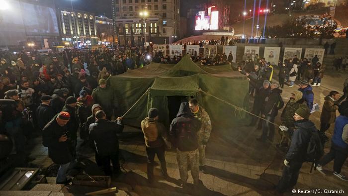 Протестувальники на Майдані Незалежності висунули свої вимоги