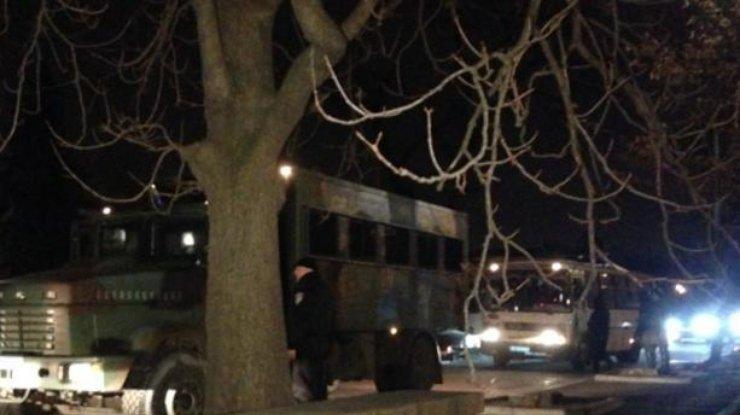 В Киеве в захваченный отель приезжало руководство МВД и Минобороны