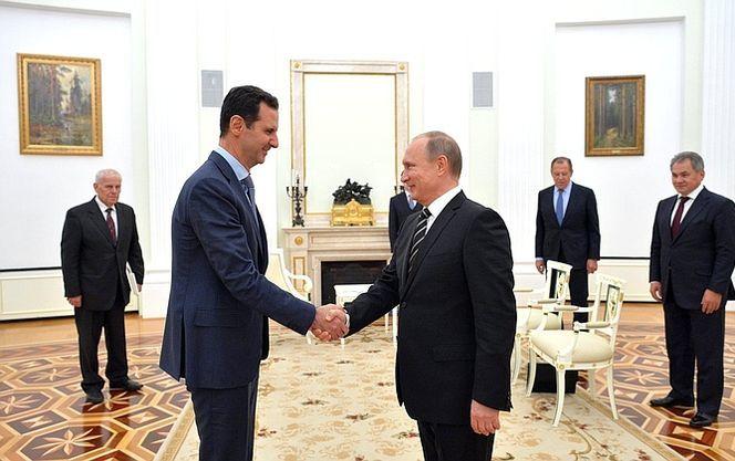 Путін обговорив з Асадом укладення домовленостей з США по Сирії