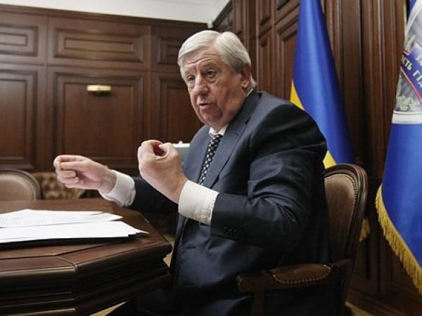 В Раде зарегистрирован проект постановления об отставке Шокина