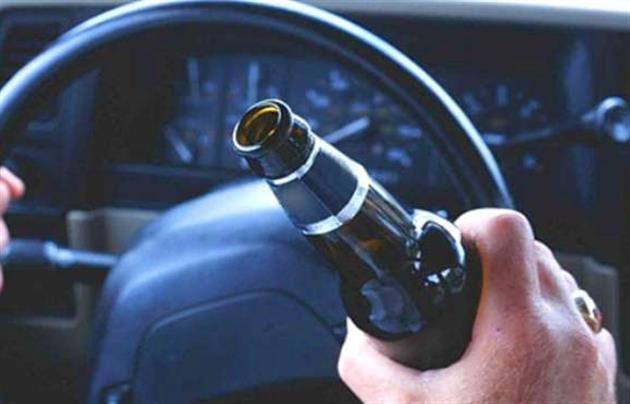 На Тячівщині п'яний водій перекинувся в кювет на лісовозі