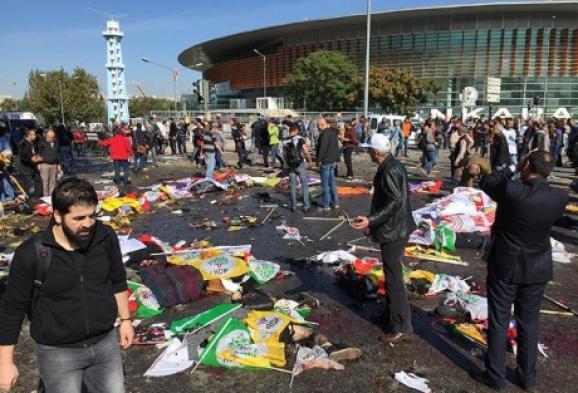 У Туреччині стався теракт, загинули поліцейські, десятки людей поранені