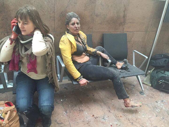 Семья Саакашвили успела покинуть аэропорт Брюсселя за считанные часы до терактов