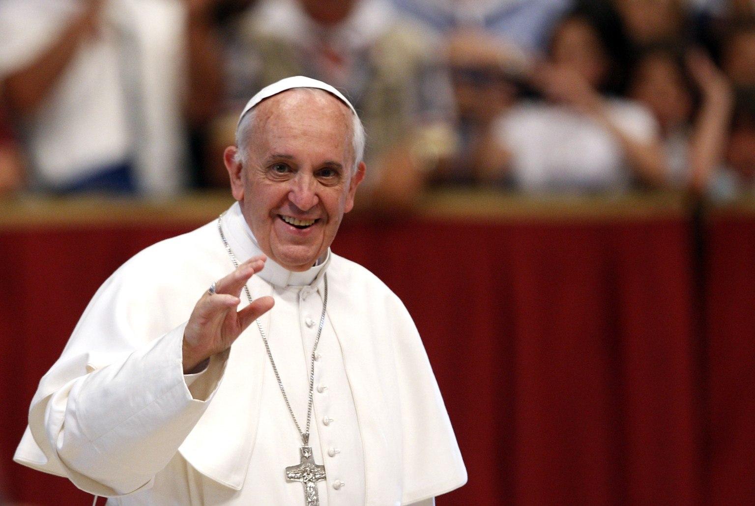 Папа Франциск на п'ять днів приїде до Польщі