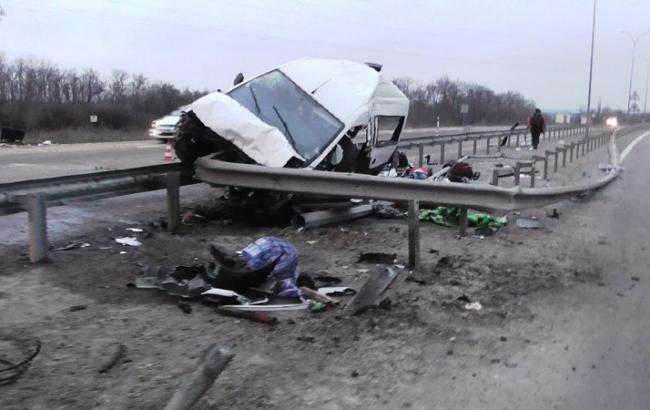 ДТП в Полтавской области: погибли три человека, четверо травмированы