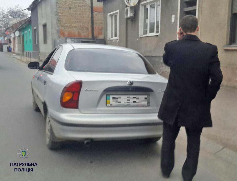 В Мукачево патрульные поймали пьяного водителя-прокурора