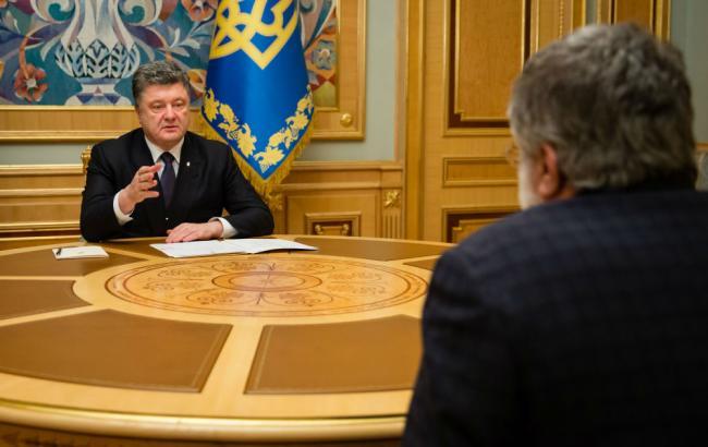 """Порошенко і Яценюк домовилися з Коломойським про входження """"Відродження"""" до коаліції – ЗМІ"""
