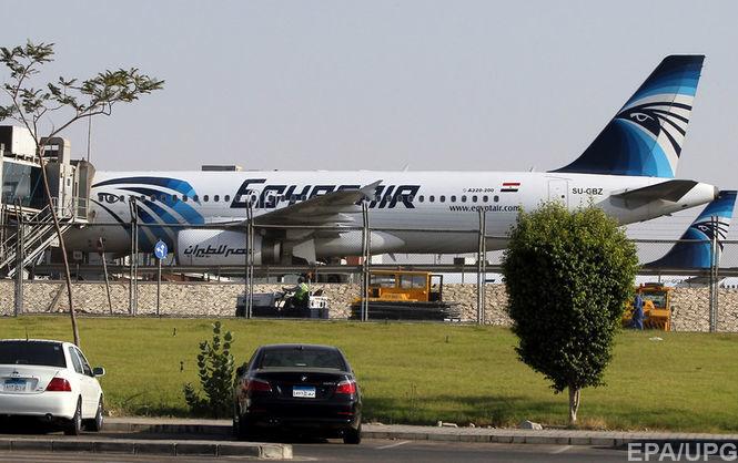 Невідомі захопили єгипетський літак