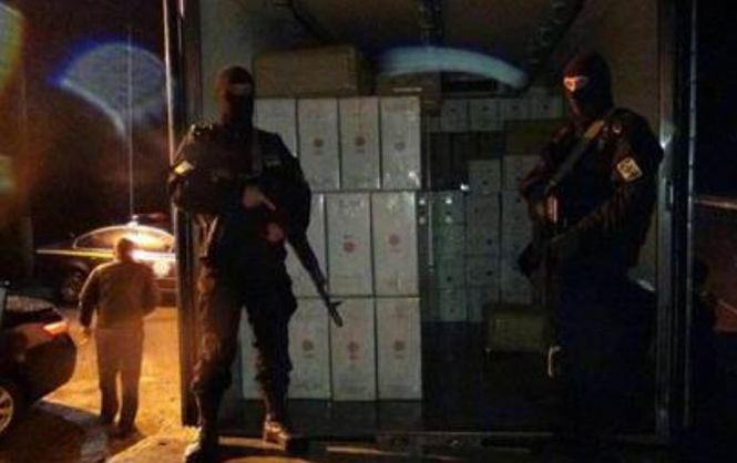 Сотрудники СБУ изъяли партию сигарет на сумму свыше одного миллиона гривен