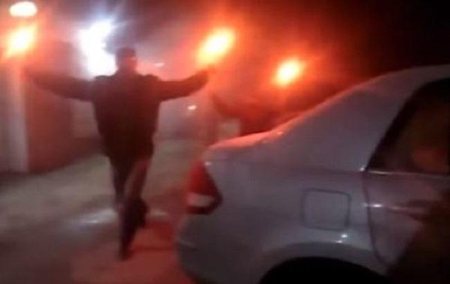 Поліція розслідує як хуліганство нічний напад на посольство РФ у Києві