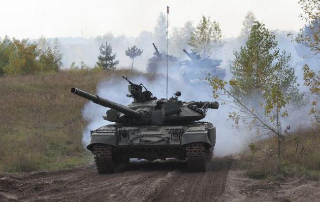 Боевики обстреляли из танка позиции сил АТО у Авдеевки