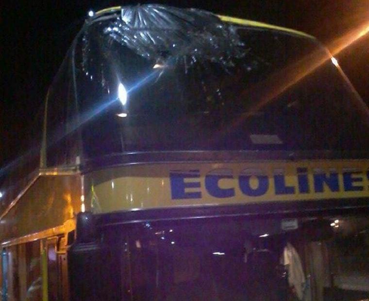 Пьяные водители везли людей в Польшу из Одессы, пока во Львове не разбили автобус