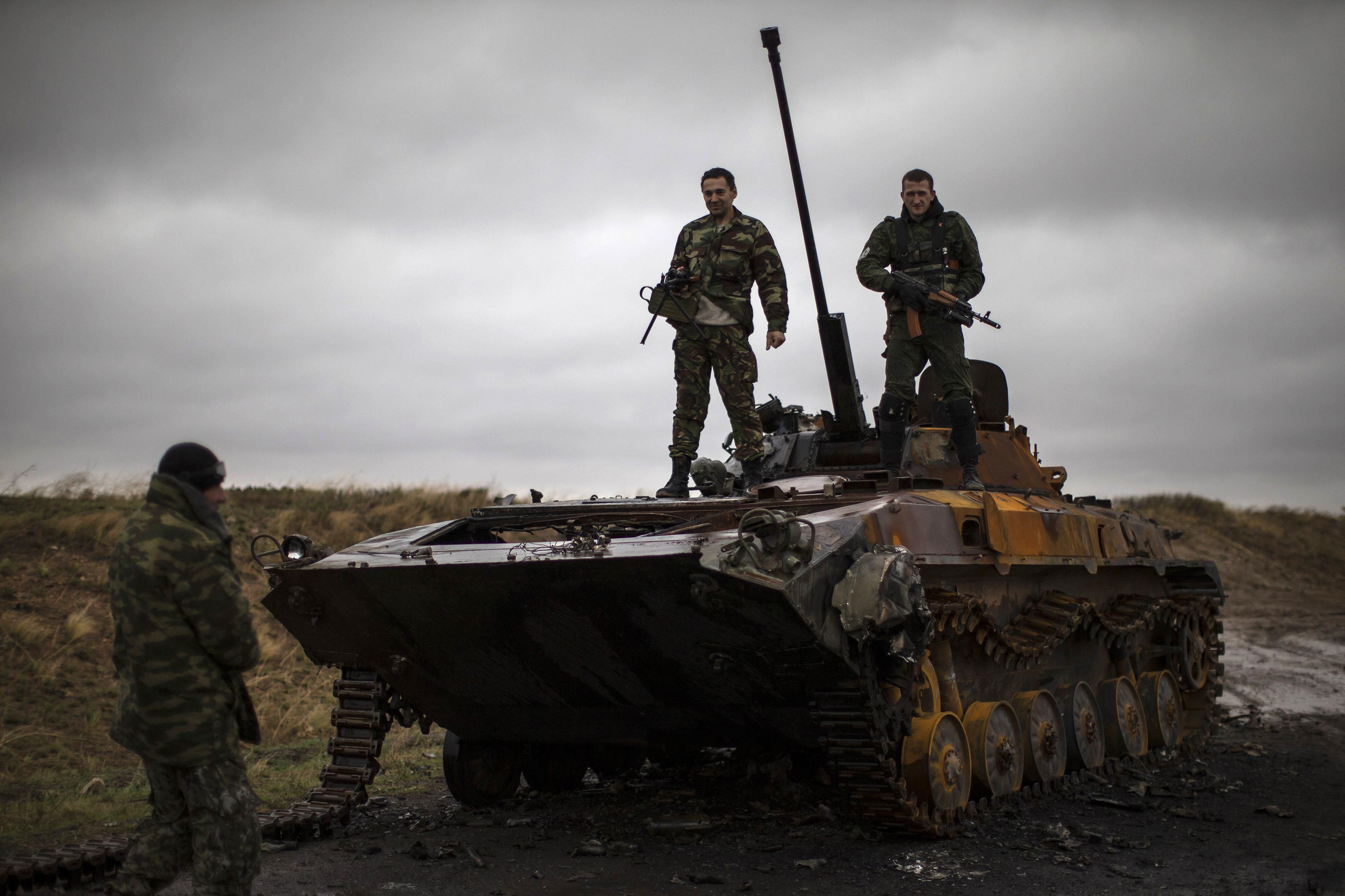 Российские наемники понесли потери на Донбассе
