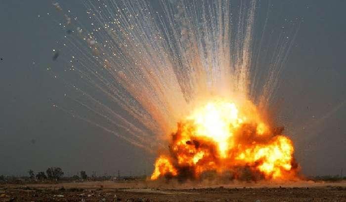 Неподалік Донецька вибухнув склад терористів з боєприпасами – Нойт