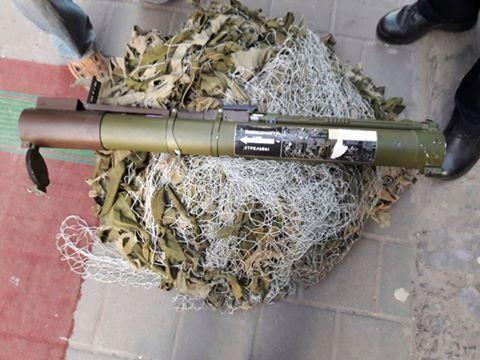 У центрі Львові затримали «журналіста» з гранатометом