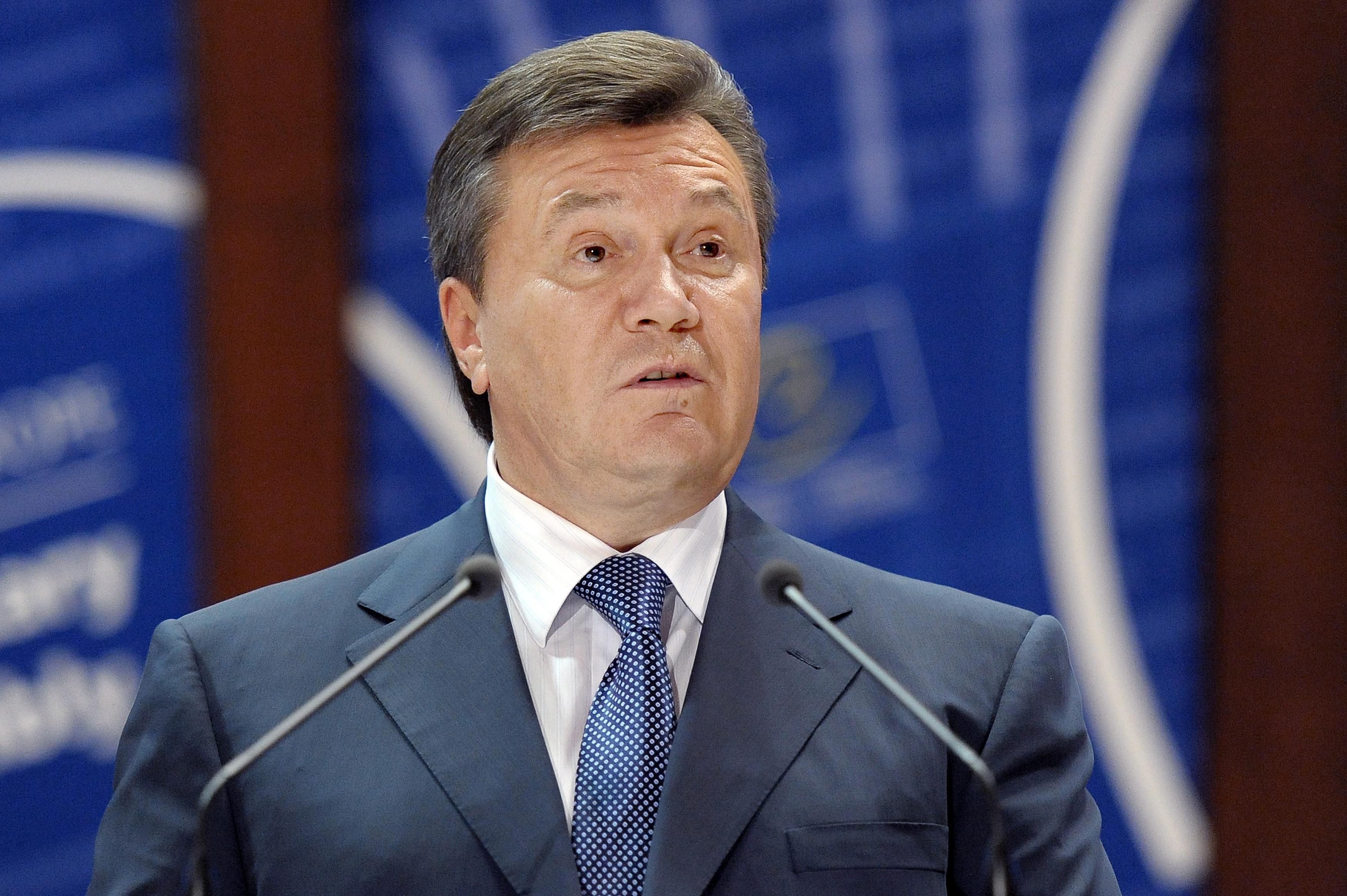 Янукович відповів на прийнятий в Україні закон про конфіскацію корупційних активів