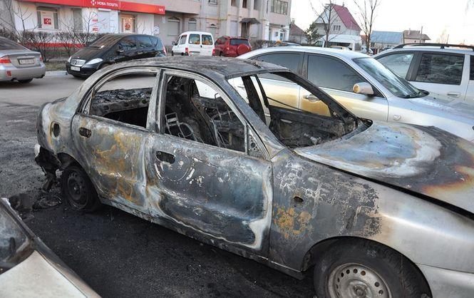 Під Києвом невідомі спалили автомобіль активіста, який виступав проти незаконної вирубки лісу (ФОТО)