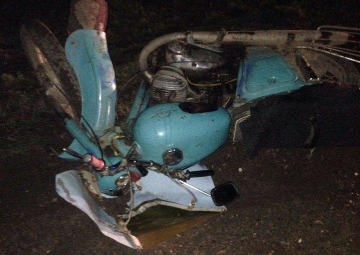 На Львівщині двоє чоловіків розбились на мотоциклі