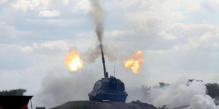 Боевики применили САУ и танки против сил АТО (ВИДЕО)
