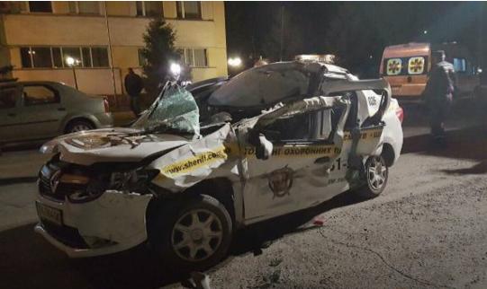 В Киеве авто охранной фирмы стало виновником смертельного ДТП (ФОТО)