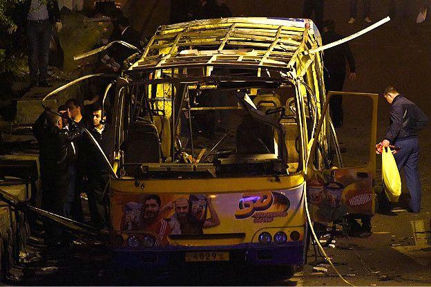 Поліція Вірменії назвала причину вибуху в пасажирському автобусі