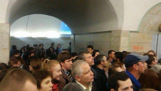 Київське метро відновило роботу: вибухівку так і не знайшли