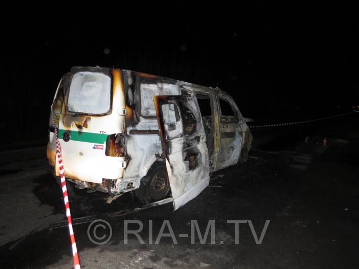 Під Мелітополем невідомі розстріляли інкасаторську автівку (ФОТО)