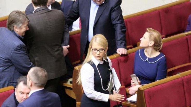 Тимошенко хоче, аби Рахункову палату віддали опозиції