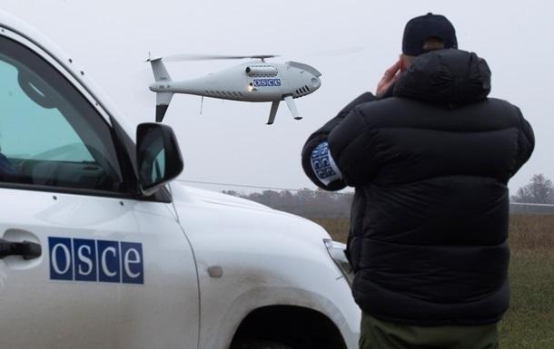 Боевики в небе над Горловкой сбили беспилотник ОБСЕ, – пресс-центр АТО