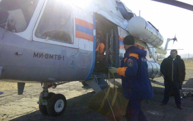 На Камчатці розбився вертоліт