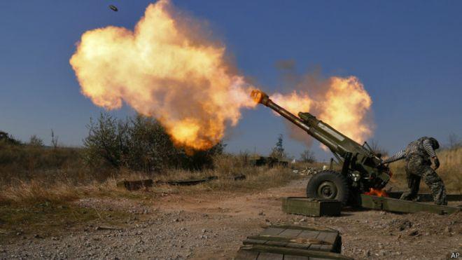 Ситуация в зоне АТО: боевики палят на Мариупольском направлении