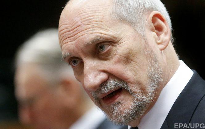 Міністр оборони Польщі заявив про вторгнення в повітряний простір країни російських безпілотників