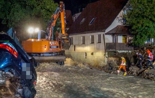 Через повінь в Німеччині загинули четверо людей (ВІДЕО)