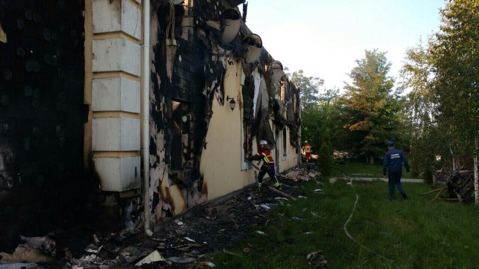 У Київській області оголошено жалобу за загиблими під час пожежі у притулку для старих