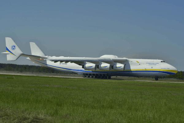 В Україні вирішили запустити серійне виробництво найбільшого у світі літака