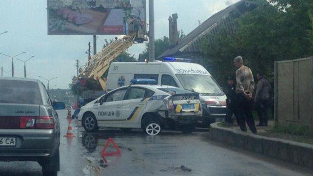 ДТП за участі патрульних у Харкові: з'явилися фото