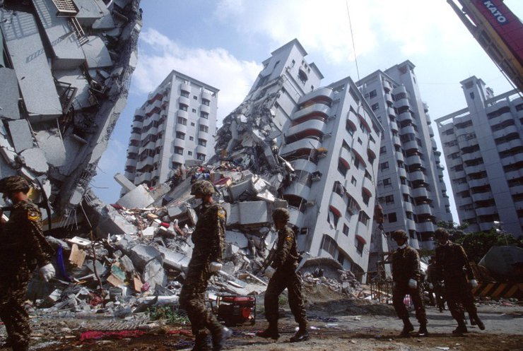 У столиці Тайваню стався землетрус