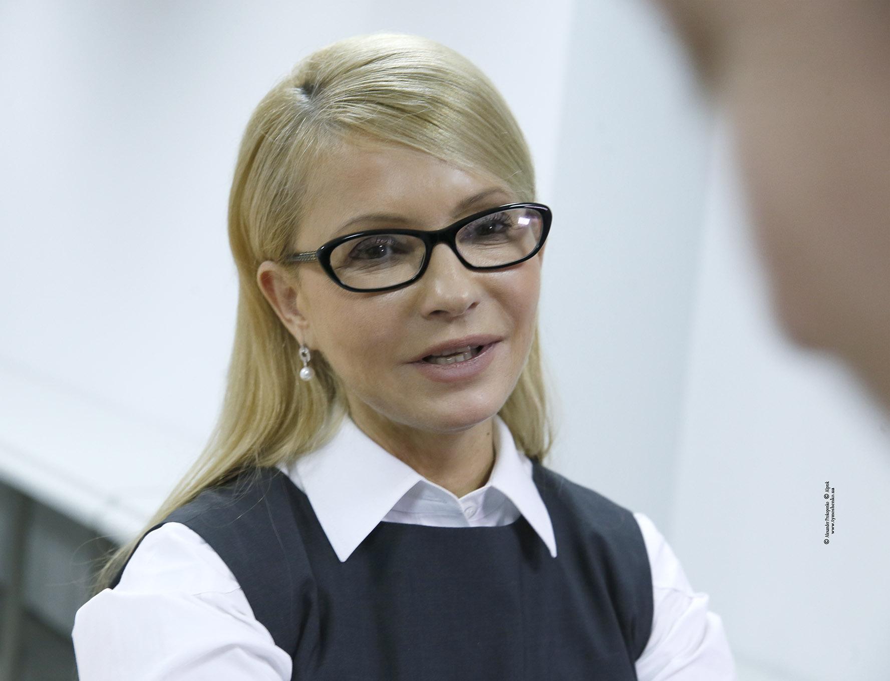 Тимошенко захищає бізнесмена Онищенко і звинувачує НАБУ в замовленні