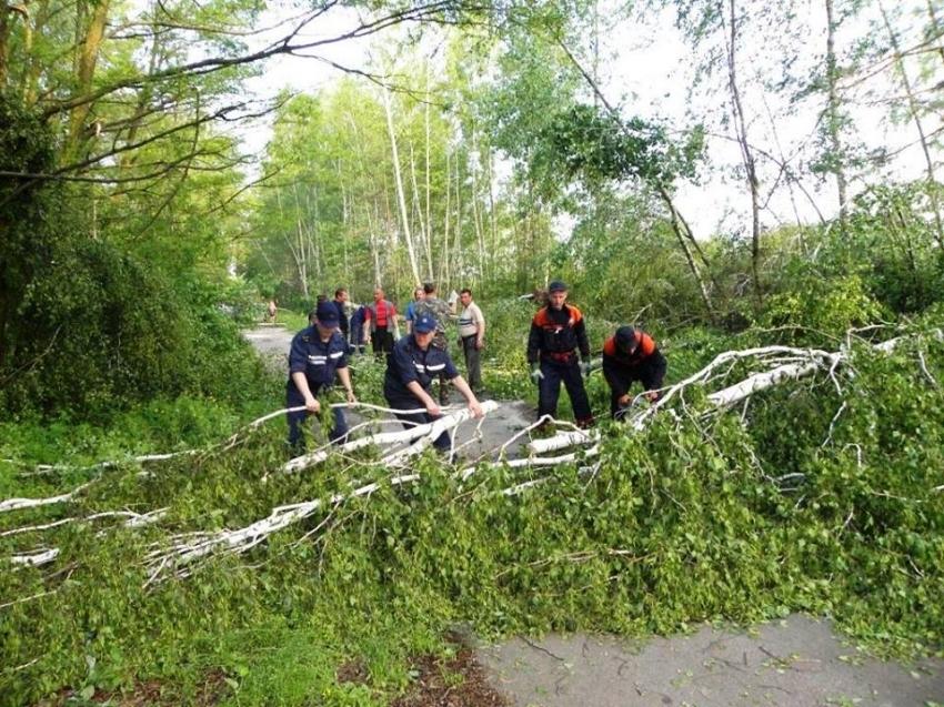 В Україні через негоду знеструмлені 80 населених пунктів