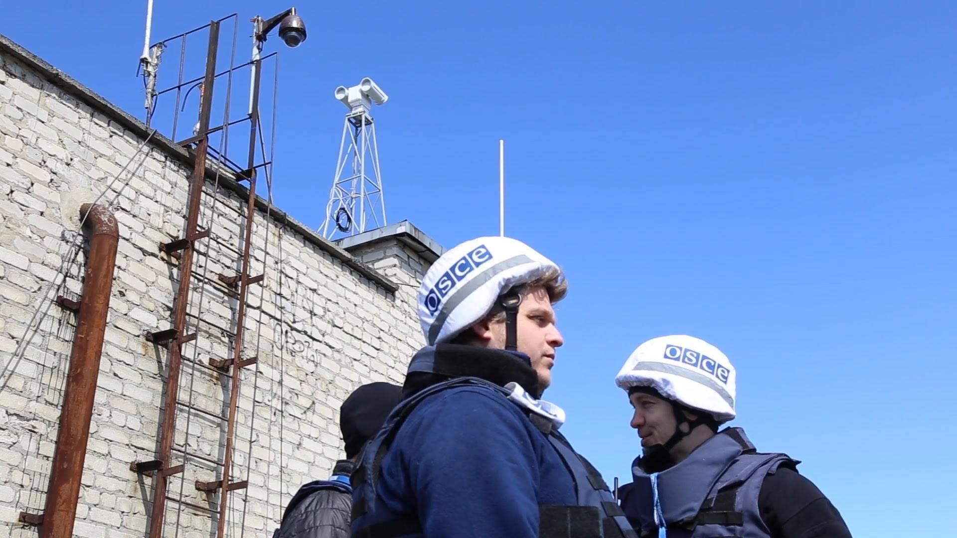 Біля Донецька спостерігачі ОБСЄ потрапили під мінометний вогонь бойовиків