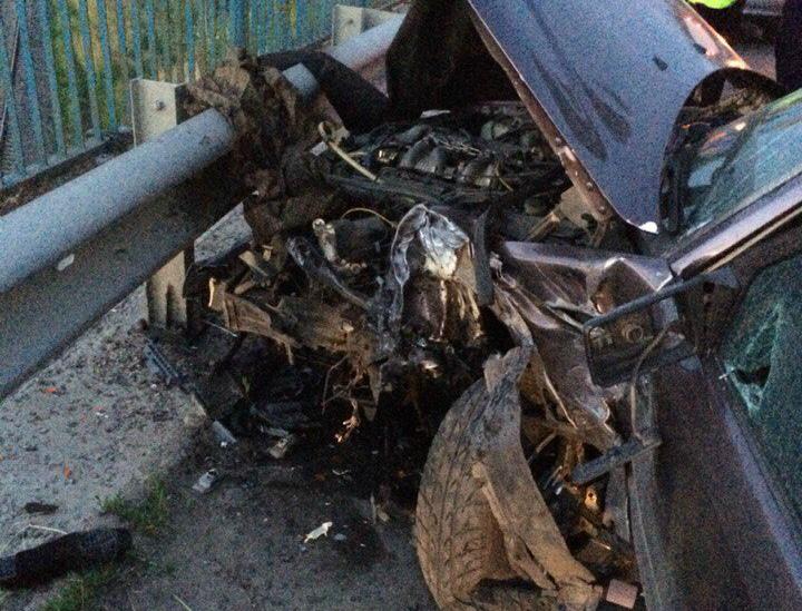 Масштабна ДТП: біля Грибовицького звалища зіткнулось одразу 5 автівок (ФОТО)