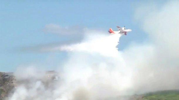 Чи становить пожежа на Грибовицькому сміттєзвалищі небезпеку для здоров'я  (ФОТО, ВІДЕО)