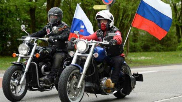 Російські байкери хотіли прорватись в Україну: прикордонники не впустили