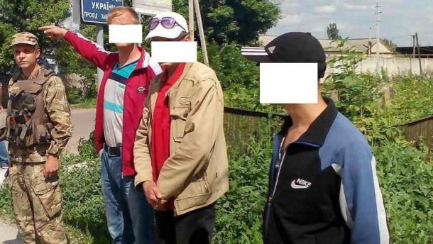 Українців, що хотіли долучитися до російських терористів, затримали на Луганщині