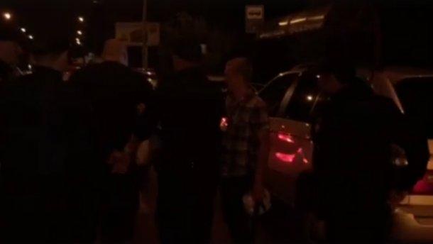 Поліція з погонею затримувала п'яного колишнього даівця (ВІДЕО)
