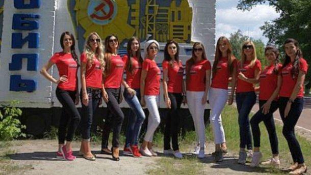 """Учасниці """"Міс Україна Всесвіт"""" влаштували фотосесію в Чорнобилі (ФОТО)"""