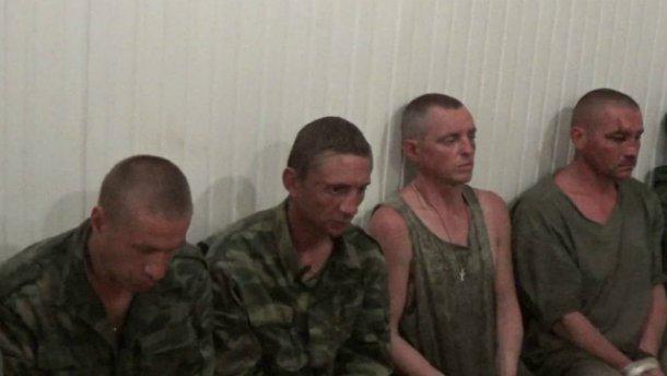 СБУ вперше показала обличчя полонених терористів: вони мали чітке завдання (ВІДЕО)
