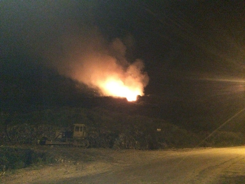 Підпалили? На Грибовицькому сміттєзвалищі з новою силою спалахнула пожежа (ФОТО)